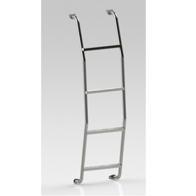 Part No. F10101 - Rear Van Door Ladder for '96 & Newer Ford Econoline/Nissan NV Stnd. Roof Vans
