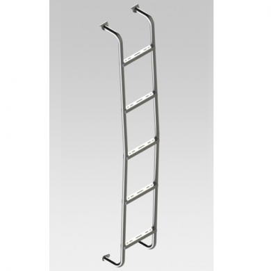 Part No. SL0107 - Rear Door Ladder for Sprinter 2007 and Newer Low Roof Vans
