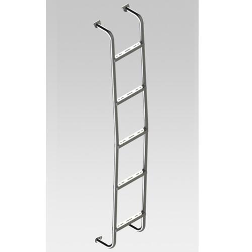 SL0107 - Rear Door Ladder for Sprinter 2007 and Newer Low Roof Vans  sc 1 st  Topper Manufacturing & Rear Door Van Ladders / Zinc Plated Rear Door Ladders
