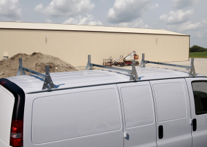 Topper Handy Man Rack with Double Bar Center Bar for a Standard Van