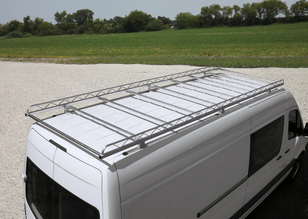 racks roof rack ford van econoline penthouse aluminess top