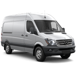 Sprinter High Roof Van Image for Topper Manufacturing Part No