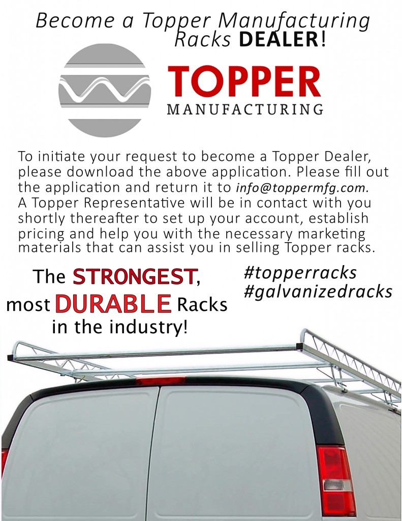Become A Dealer Topper Manufacturing
