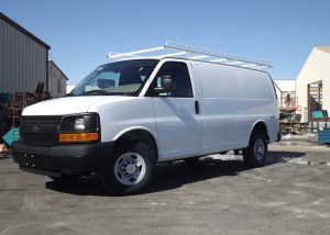 Topper Rack with Heavy Duty Kit for a Standard Chevy Van