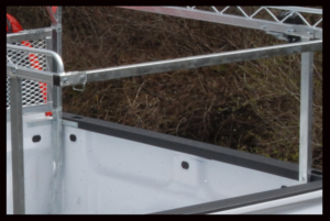 Truck Rack Removable Crossbar Pocket Part No. 502009